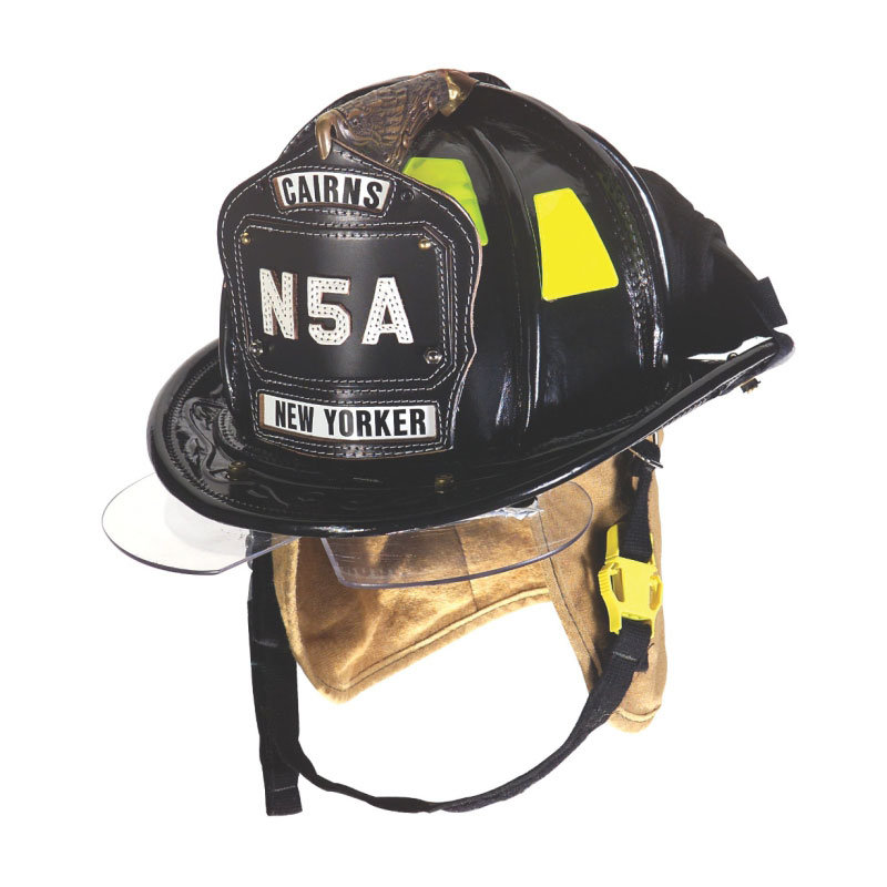 MSA CAIRNS® N5A NEW YORKER™ LEATHER FIRE HELMET