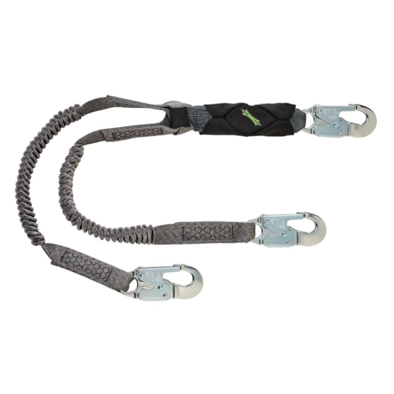 MSA V-SERIES STRETCH SHOCK ABSORBING LANYARD