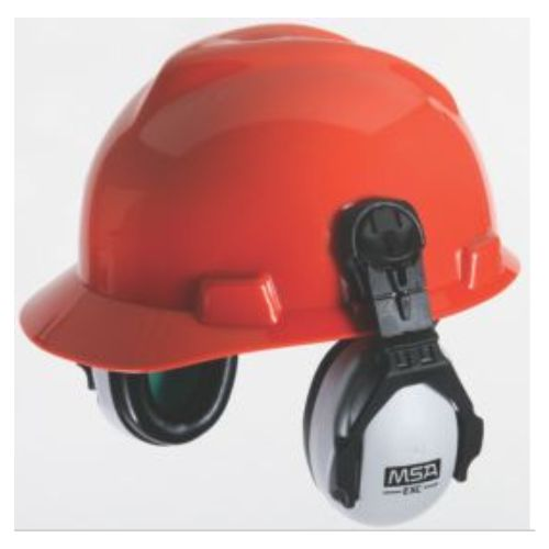 MSA EXC Cap Mounted Earmuff