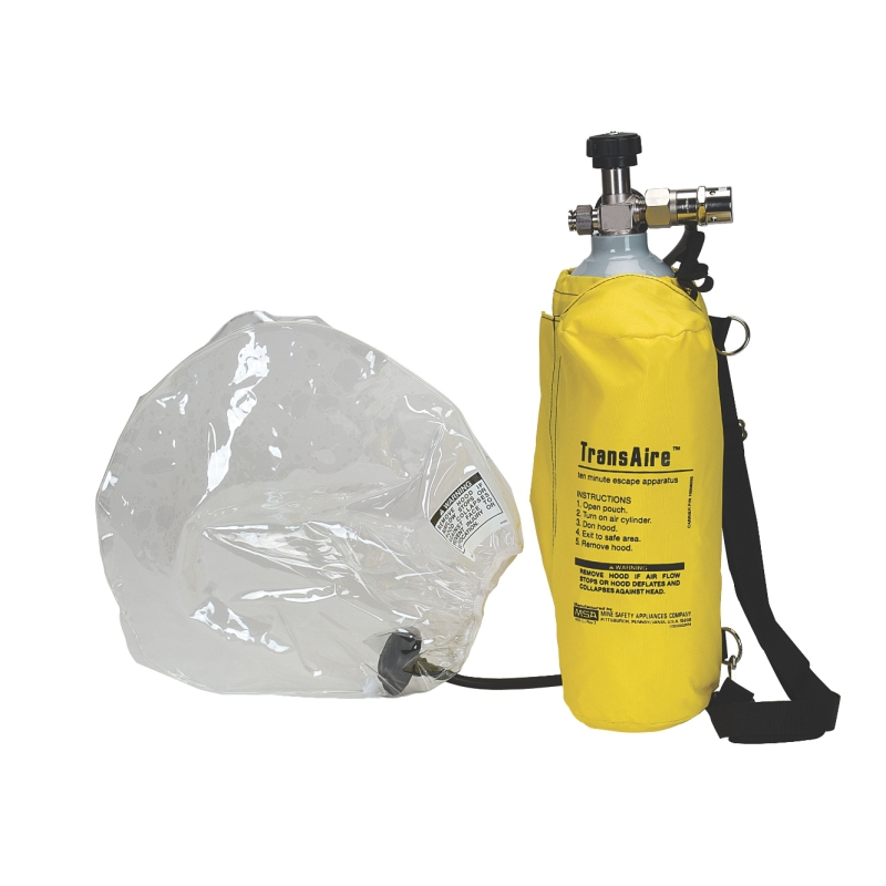 MSA TRANSAIRE® 5 AND TRANSAIRE® 10 ESCAPE RESPIRATOR